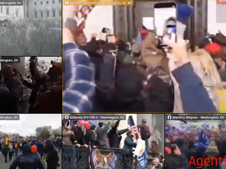 CNN:Περισσότερα στοιχεία συγκλίνουν ότι η επίθεση στο Καπιτώλιο ενορχηστρώθηκε από Antifa και B.L.M..