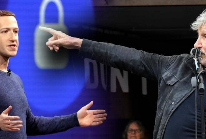 Ο Μαρκ Ζούκερμπεργκ ζήτησε τραγούδι από τον Roger Waters και η απάντηση ήταν: «Αντε γ@#ου»